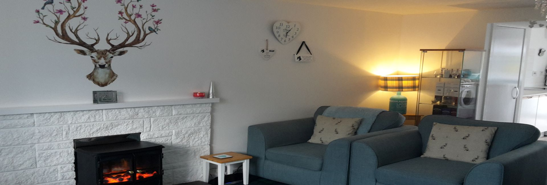Lounge Aldrach Cottage Self Catering Accommodation Bowmore